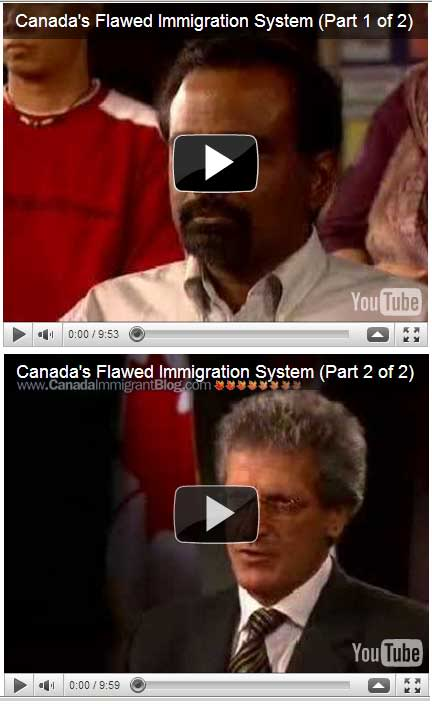 Canada's flawed immigration system videos - Parts 1 and 2