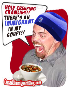 Immigrant in my soup