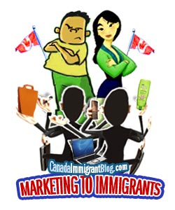 Marketing products to immigrants
