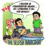 The Selfish Immigrant